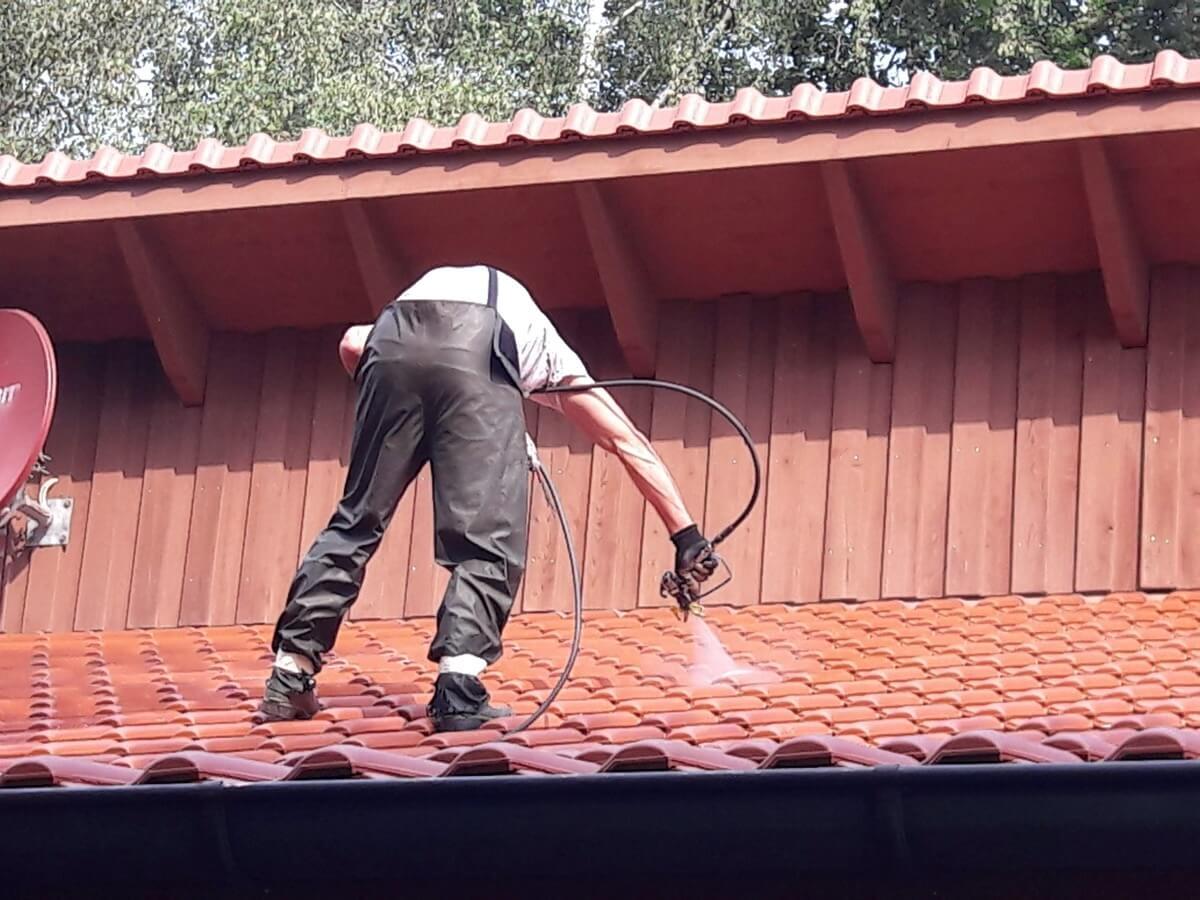1 - Impraegnierung - von Dachflaechen