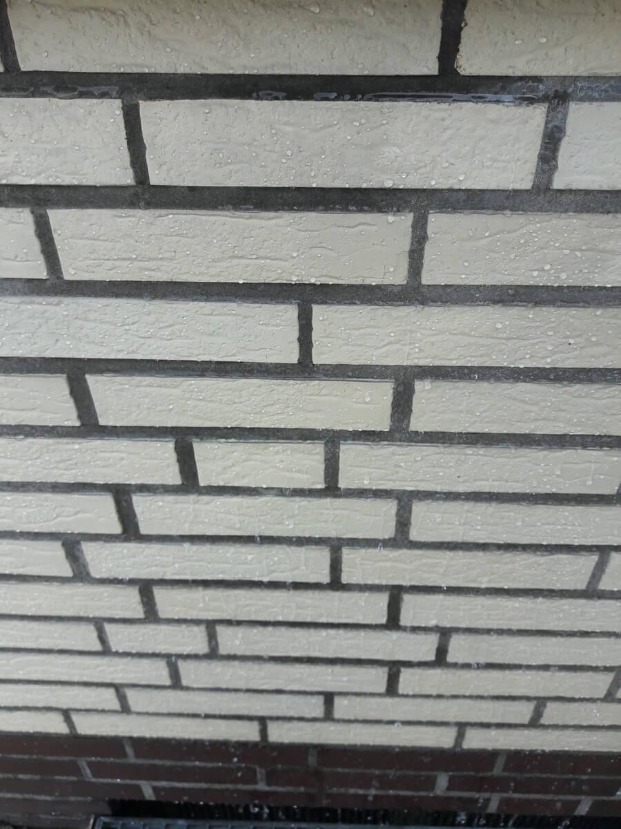 3 - Abperlefekt - Klinker Fassade